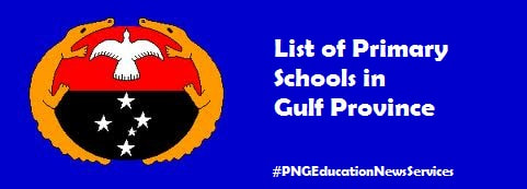 Primary Schools in Gulf Province
